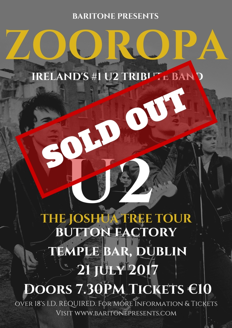 ZOOROPA Button Factory 2017 July 21 POSTER updated (2)