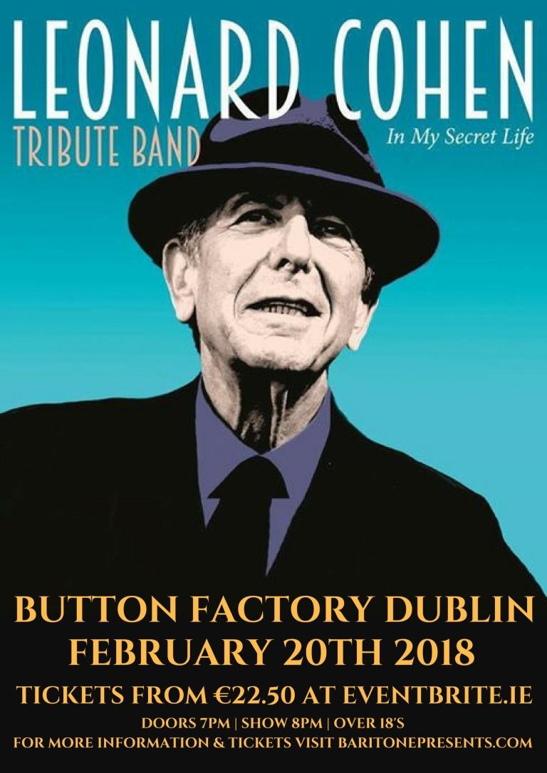 Leonard Cohen Dublin 20TH
