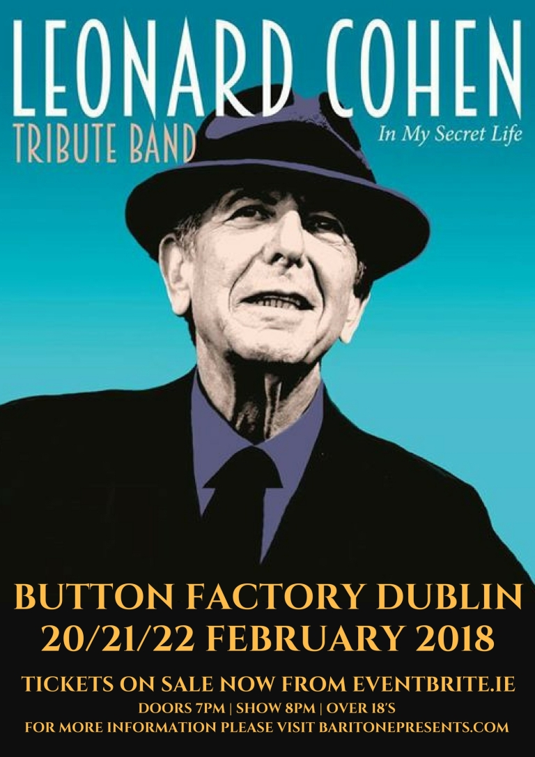 Leonard Cohen Dublin 202122